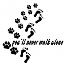 "Hundesportweste ""you´ll never walk alone"""