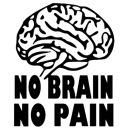 No Brain - No Pain